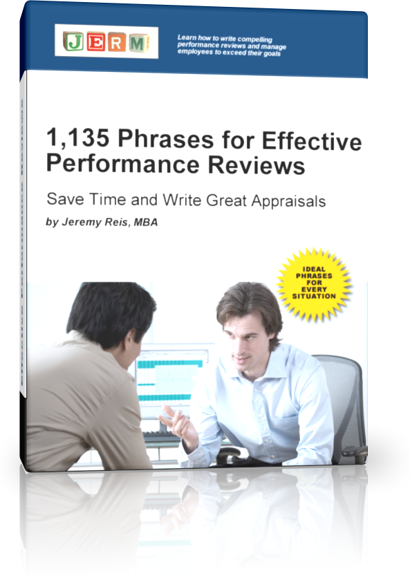 Effective Performance Reviews [ebook] - PerformanceReviews.net